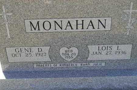 MONAHAN, LOIS L. - Codington County, South Dakota | LOIS L. MONAHAN - South Dakota Gravestone Photos
