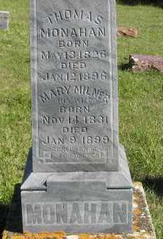 MONAHAN, THOMAS - Codington County, South Dakota   THOMAS MONAHAN - South Dakota Gravestone Photos