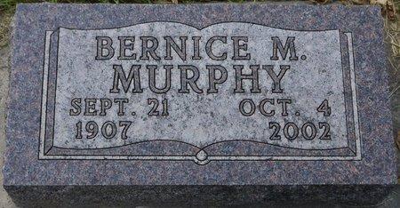 MURPHY, BERNICE M. - Codington County, South Dakota   BERNICE M. MURPHY - South Dakota Gravestone Photos