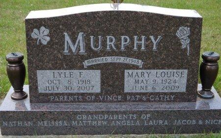 MURPHY, LYLE F. - Codington County, South Dakota   LYLE F. MURPHY - South Dakota Gravestone Photos