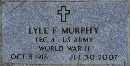 MURPHY, LYLE F. (MILITARY) - Codington County, South Dakota | LYLE F. (MILITARY) MURPHY - South Dakota Gravestone Photos