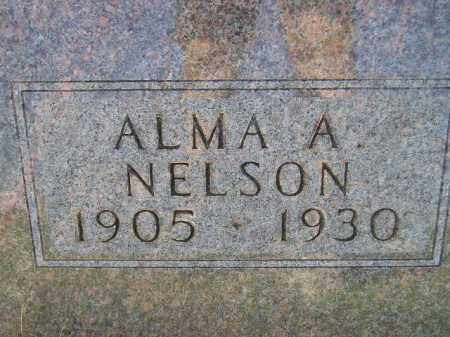 NELSON, ALMA A. - Codington County, South Dakota | ALMA A. NELSON - South Dakota Gravestone Photos
