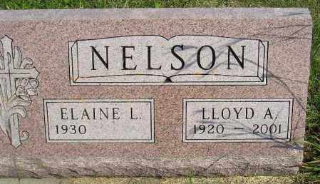 NELSON, ELAINE L. - Codington County, South Dakota | ELAINE L. NELSON - South Dakota Gravestone Photos