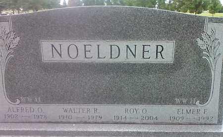 NOELDNER, WALTER R - Codington County, South Dakota | WALTER R NOELDNER - South Dakota Gravestone Photos