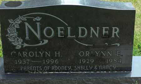 NOELDNER, CAROLYN H - Codington County, South Dakota   CAROLYN H NOELDNER - South Dakota Gravestone Photos