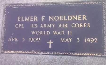 NOELDNER, ELMER F (MILITARY) - Codington County, South Dakota | ELMER F (MILITARY) NOELDNER - South Dakota Gravestone Photos