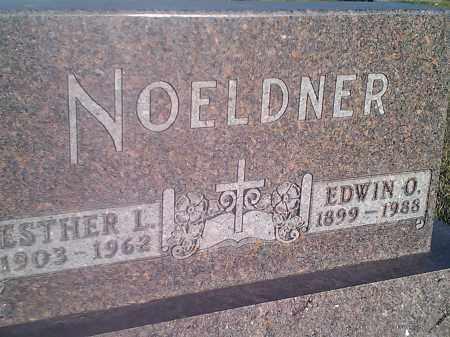 NOELDNER, ESTHER L - Codington County, South Dakota   ESTHER L NOELDNER - South Dakota Gravestone Photos