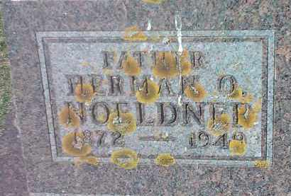 NOELDNER, HERMAN O - Codington County, South Dakota   HERMAN O NOELDNER - South Dakota Gravestone Photos