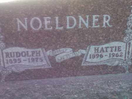 NOELDNER, HATTIE - Codington County, South Dakota | HATTIE NOELDNER - South Dakota Gravestone Photos