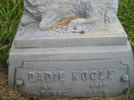 NOGLE, DADIE - Codington County, South Dakota   DADIE NOGLE - South Dakota Gravestone Photos