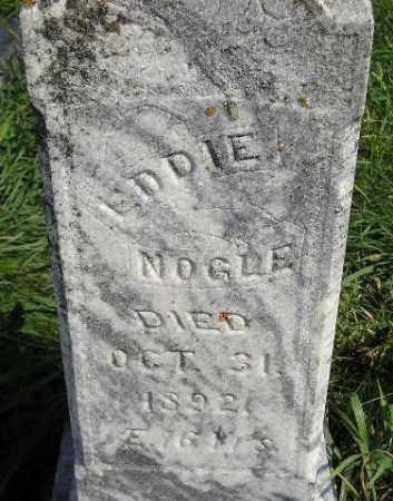 NOGLE, EDDIE - Codington County, South Dakota   EDDIE NOGLE - South Dakota Gravestone Photos