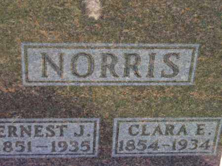 NORRIS, CLARA E. - Codington County, South Dakota | CLARA E. NORRIS - South Dakota Gravestone Photos