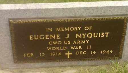 NYQUIST, EUGENE J (MILITARY) - Codington County, South Dakota | EUGENE J (MILITARY) NYQUIST - South Dakota Gravestone Photos