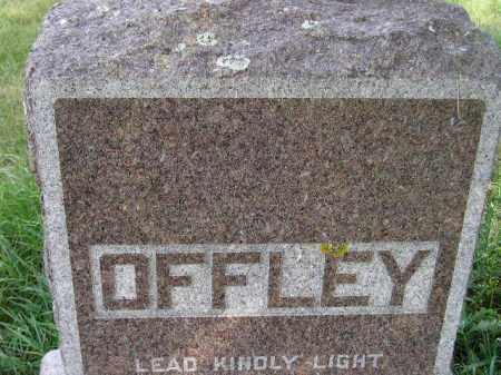 OFFLEY, FAMILY STONE - Codington County, South Dakota | FAMILY STONE OFFLEY - South Dakota Gravestone Photos