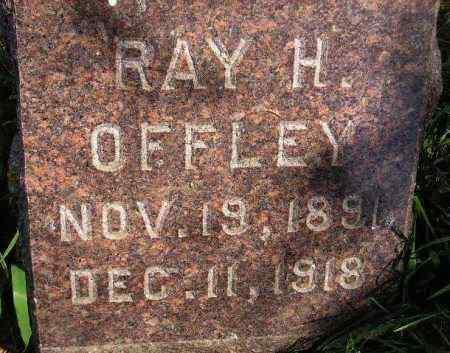 OFFLEY, RAY H. - Codington County, South Dakota | RAY H. OFFLEY - South Dakota Gravestone Photos