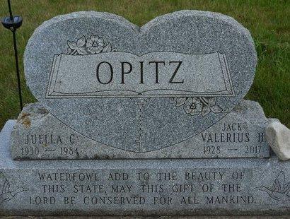 "OPITZ, VALERIUS ""JACK"" - Codington County, South Dakota | VALERIUS ""JACK"" OPITZ - South Dakota Gravestone Photos"