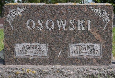 OSOWSKI, AGNES - Codington County, South Dakota | AGNES OSOWSKI - South Dakota Gravestone Photos