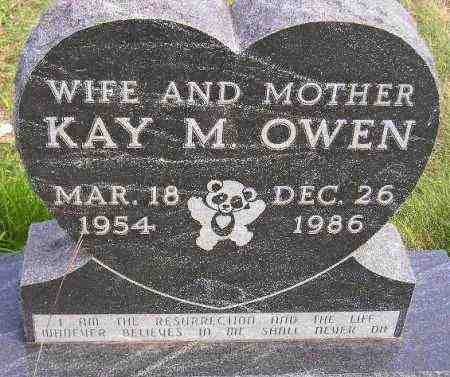 OWEN, KAY M. - Codington County, South Dakota | KAY M. OWEN - South Dakota Gravestone Photos