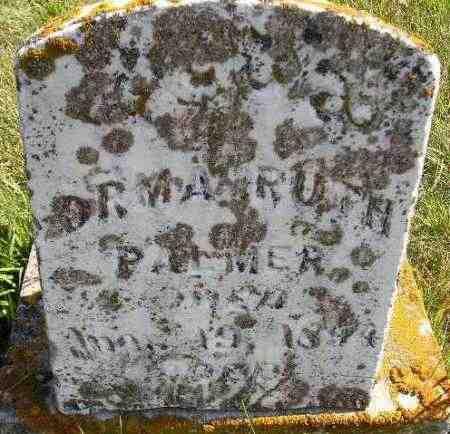 PALMER, ORMA RUTH - Codington County, South Dakota   ORMA RUTH PALMER - South Dakota Gravestone Photos