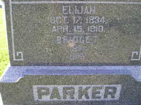 PARKER, ELIJAH THOMAS - Codington County, South Dakota | ELIJAH THOMAS PARKER - South Dakota Gravestone Photos