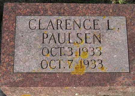 PAULSEN, CLARENCE L. - Codington County, South Dakota | CLARENCE L. PAULSEN - South Dakota Gravestone Photos