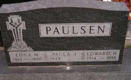 PAULSEN, PAULA J. - Codington County, South Dakota | PAULA J. PAULSEN - South Dakota Gravestone Photos
