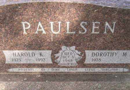 PAULSEN, DOROTHY M. - Codington County, South Dakota | DOROTHY M. PAULSEN - South Dakota Gravestone Photos