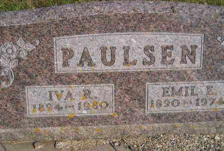 PAULSEN, EMIL E. - Codington County, South Dakota | EMIL E. PAULSEN - South Dakota Gravestone Photos