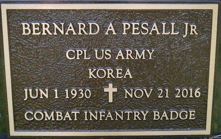 PESALL JR. (MILITARY), BERNARD A. - Codington County, South Dakota   BERNARD A. PESALL JR. (MILITARY) - South Dakota Gravestone Photos
