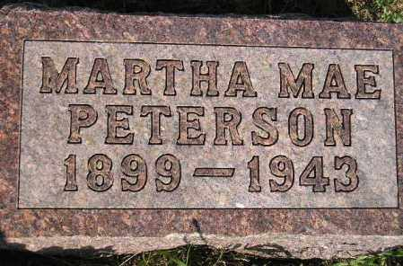 MCELROY PETERSON, MARTHA MAE - Codington County, South Dakota | MARTHA MAE MCELROY PETERSON - South Dakota Gravestone Photos