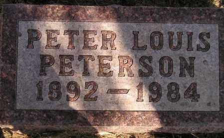 PETERSON, PETER LOUIS - Codington County, South Dakota | PETER LOUIS PETERSON - South Dakota Gravestone Photos