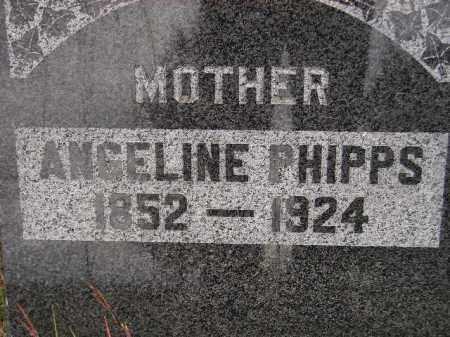 PHIPPS, ANGELINE - Codington County, South Dakota   ANGELINE PHIPPS - South Dakota Gravestone Photos