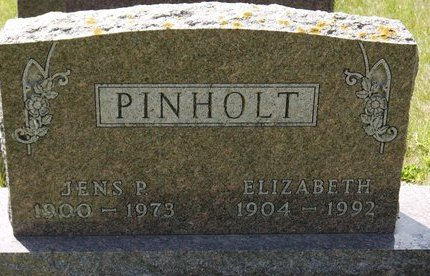 PINHOLT, JENS P - Codington County, South Dakota | JENS P PINHOLT - South Dakota Gravestone Photos