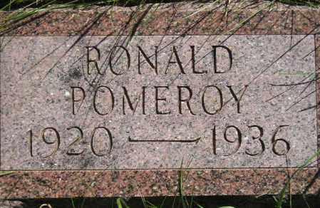POMEROY, RONALD - Codington County, South Dakota | RONALD POMEROY - South Dakota Gravestone Photos