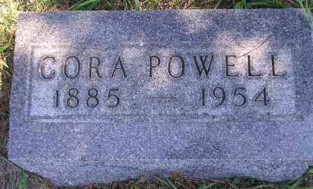 POWELL, CORA - Codington County, South Dakota | CORA POWELL - South Dakota Gravestone Photos