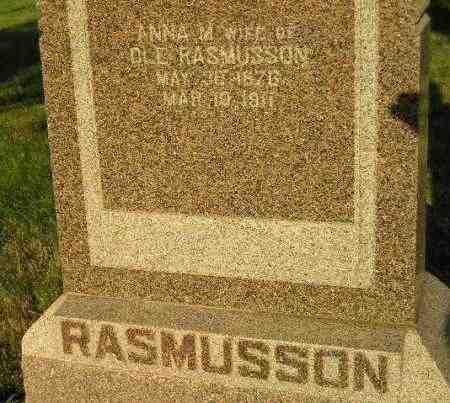 STORKSON RASMUSSON, ANNA MARIE - Codington County, South Dakota | ANNA MARIE STORKSON RASMUSSON - South Dakota Gravestone Photos