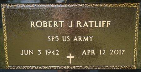 RATLIFF (MILITARY), ROBERT JOHN - Codington County, South Dakota | ROBERT JOHN RATLIFF (MILITARY) - South Dakota Gravestone Photos
