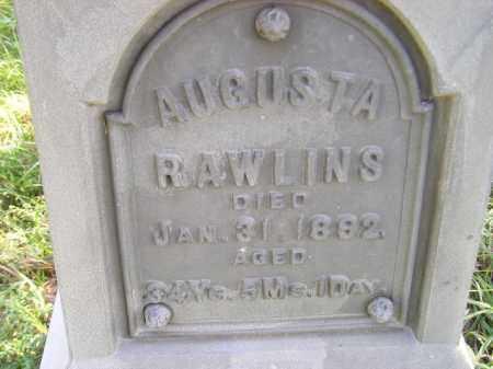 RAWLINS, AUGUSTA - Codington County, South Dakota | AUGUSTA RAWLINS - South Dakota Gravestone Photos
