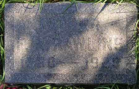 RAWLINS, FRANK ASBURY - Codington County, South Dakota   FRANK ASBURY RAWLINS - South Dakota Gravestone Photos