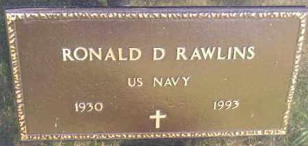 RAWLINS, RONALD D. (US ARMY) - Codington County, South Dakota   RONALD D. (US ARMY) RAWLINS - South Dakota Gravestone Photos