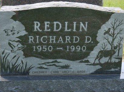 REDLIN, RICHARD D. - Codington County, South Dakota   RICHARD D. REDLIN - South Dakota Gravestone Photos