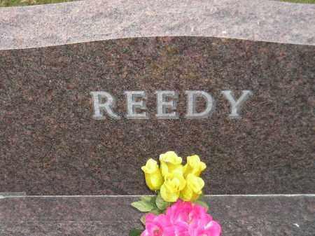 REEDY, FAMILY STONE - Codington County, South Dakota   FAMILY STONE REEDY - South Dakota Gravestone Photos