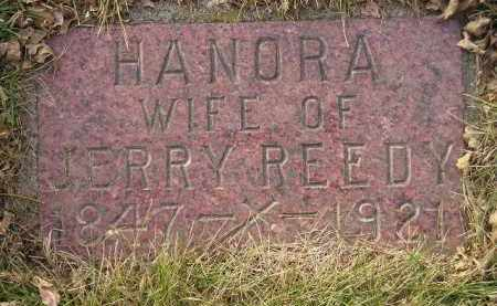 REEDY, HANORA - Codington County, South Dakota   HANORA REEDY - South Dakota Gravestone Photos
