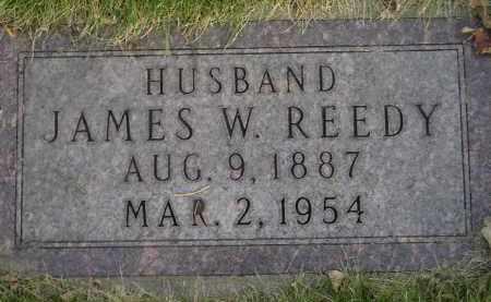 REEDY, JAMES W. - Codington County, South Dakota | JAMES W. REEDY - South Dakota Gravestone Photos