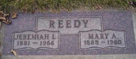 REEDY, MARY A. - Codington County, South Dakota   MARY A. REEDY - South Dakota Gravestone Photos