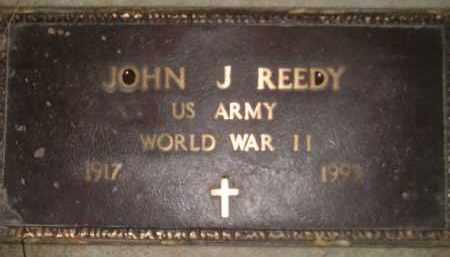REEDY, JOHN J. (WW II) - Codington County, South Dakota   JOHN J. (WW II) REEDY - South Dakota Gravestone Photos