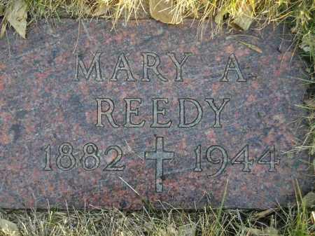 REEDY, MARY A. - Codington County, South Dakota | MARY A. REEDY - South Dakota Gravestone Photos
