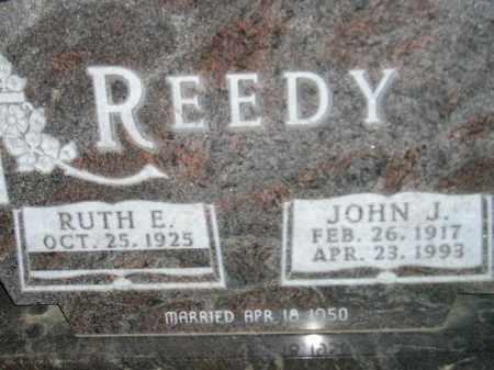 REEDY, JOHN J. - Codington County, South Dakota | JOHN J. REEDY - South Dakota Gravestone Photos