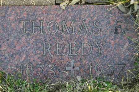 REEDY, THOMAS F. - Codington County, South Dakota | THOMAS F. REEDY - South Dakota Gravestone Photos