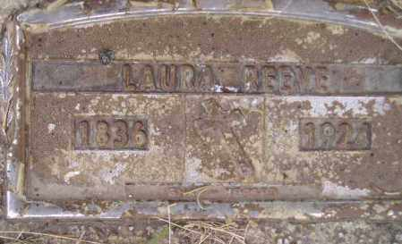 REEVE, LAURA - Codington County, South Dakota | LAURA REEVE - South Dakota Gravestone Photos